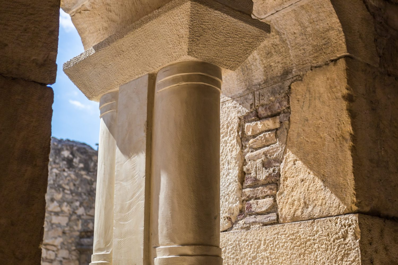 Myra, St Nicholas Church - ancient city's temple of the altar. Antalya. Turkey